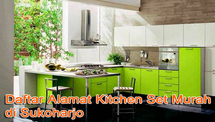 Kitchen Set Sukoharjo